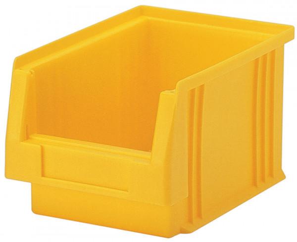 Sichtlagerkasten gelb L 230/205 x B 150 x H 125 mm aus PP