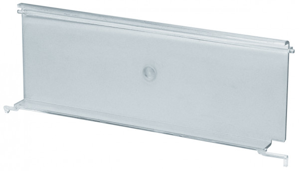 Sichtklappen transparent für Sichtlagerkästen Serie PLK 1
