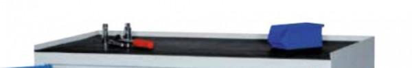 Rillengummi-Auflage schwarz H 0,02 x B 500 x T 500 mm