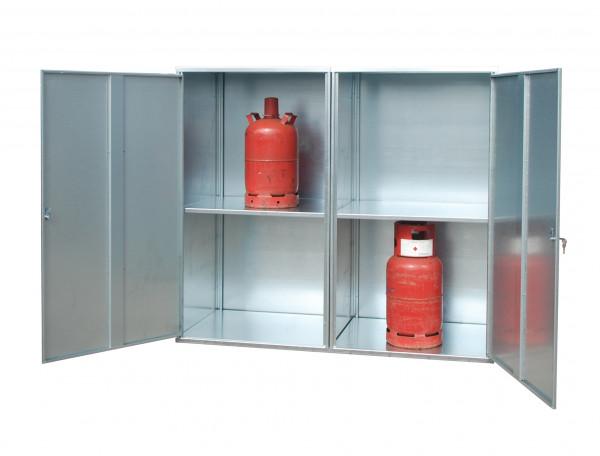 Gasflaschen-Depot für den Innen- und Außenbereich Typ GFD-G 2 für max. 20 Gasflaschen