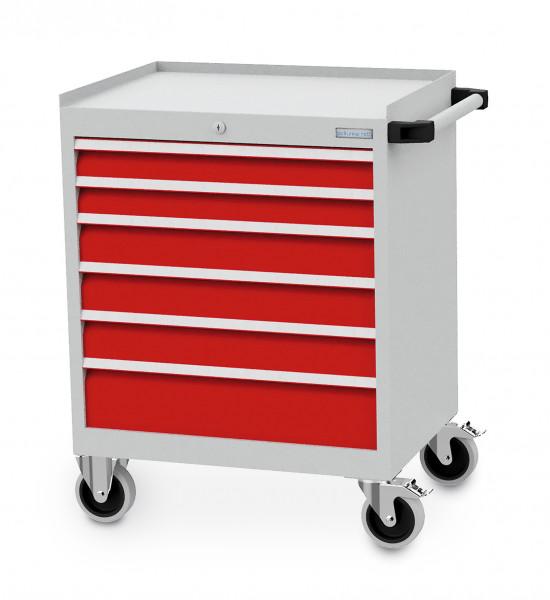 Mobiler Schubladenschrank mit 6 Schubladen