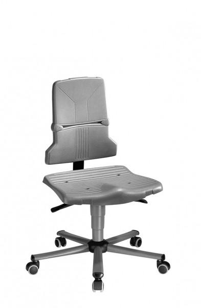 Arbeitsdrehstuhl Sintec 9803-1000 mit Rollen und Kontaktrückenlehne