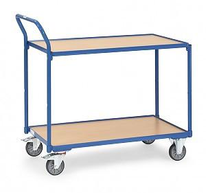 Leichter Tischwagen 2742 mit 2 Böden