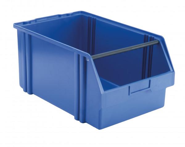 Sichtlagerkasten blau aus Polystyrol L 500/450 x B 300 x H 230 mm