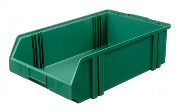 Sichtlagerkasten grün aus Polystyrol L 500/450 x B 300 x H 145 mm