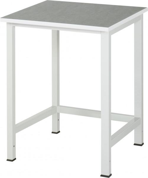Werktisch B 750 x T 800 x H 825 mm mit Linoleum-/Universal-Platte