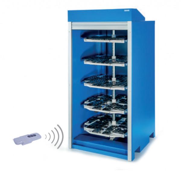 CNC- Schrank RotaRex mit elektrischen Rollladen