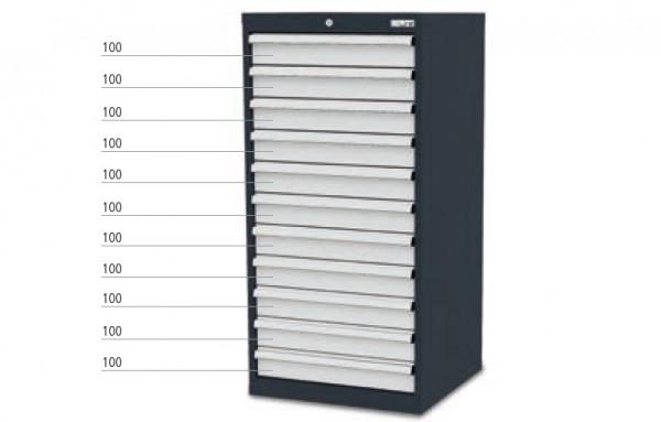 Schubladenschrank mit 11 Schubladen