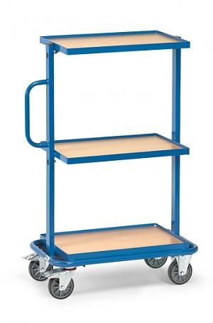 Beistellwagen mit 3 festen Böden Tragkraft 200 kg