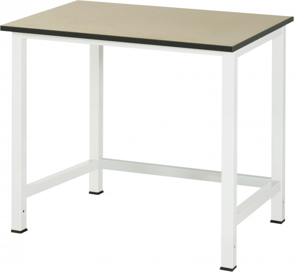 Werktisch B 1000 x T 800 x H 825 mm mit MDF-Platte