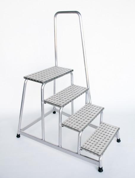 Aluminium-Arbeitspodest starr 4 Stufen Arbeitsh/öhe bis ca 2,80 m