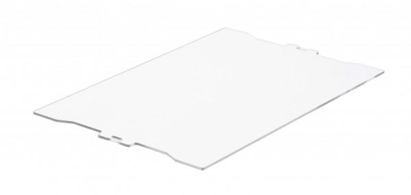 Deckel L 477 x B 300 x H 4 mm für Drehlagerkästen DLK 1 und DLK 1c