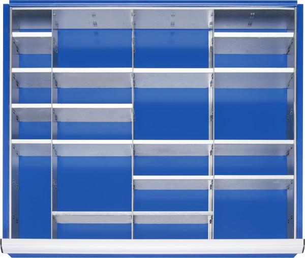 Einteilungsset für Schubladen Gr. XL Höhe 60 - 90 mm
