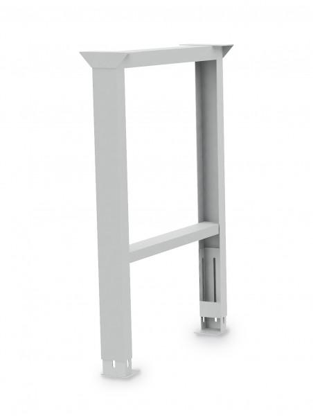 Werkbank Fußgestell  höhenverstellbar B 150 x T 650 x H 819 - 1019 mm