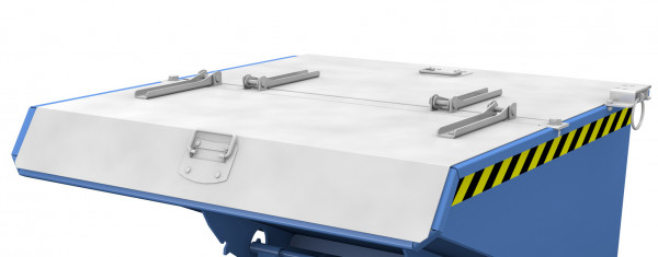 Verzinkter Deckel für Mini-Kippbehälter Typ EXPO 150