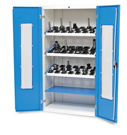 CNC-Vitrinenschrank T 500 R 36-16 B 980 x T 500 x H 1838 mm