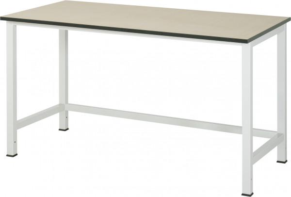 Werktisch B 1500 x T 800 x H 825 mm mit MDF-Platte