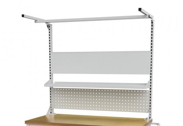 Multi-Wand Aufbau für mobile Werkbank B 1500 x T 750 x H 859 mm