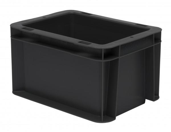 Transport-Stapelkasten schwarz leitfähig TKL 200/120-0