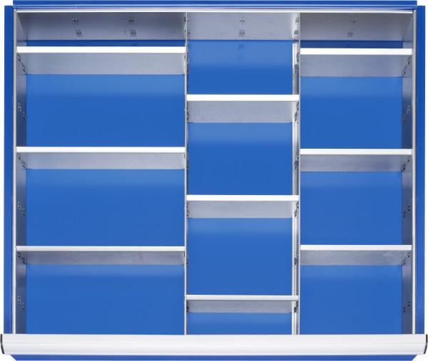 Einteilungsset für Schubladen-Innenmaß B 680 x T 560 mm