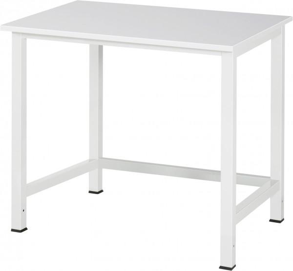 Werktisch B 1000 x T 800 x H 825 mm mit Melamin-Platte
