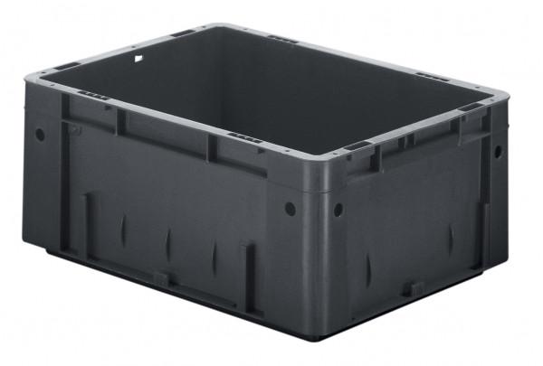 Schwerlast-Stapelkasten leitfähig VTKL 400/175-0 aus PP