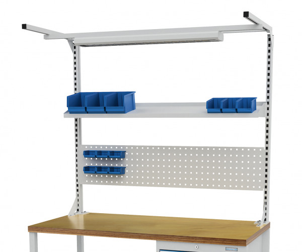 Multi- Wand- Aufbau für Kastenwerkbank B 1500 x T 750 x H 859 mm
