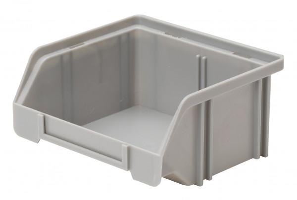 Sichtlagerkasten grau aus Polystyrol L 85/65 x B 105 x H 45 mm