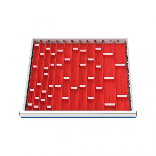 Muldenplatten | 56-teilig