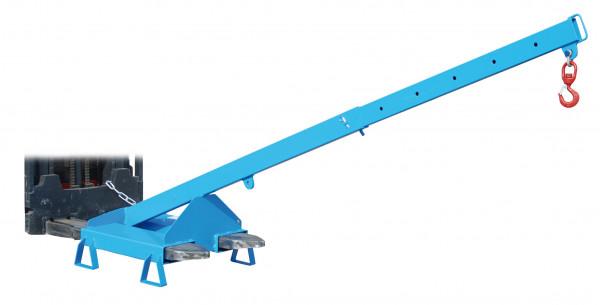 Lastarm teleskopierbar geneigt Typ LAT 25-1,0 lackiert RAL 5012
