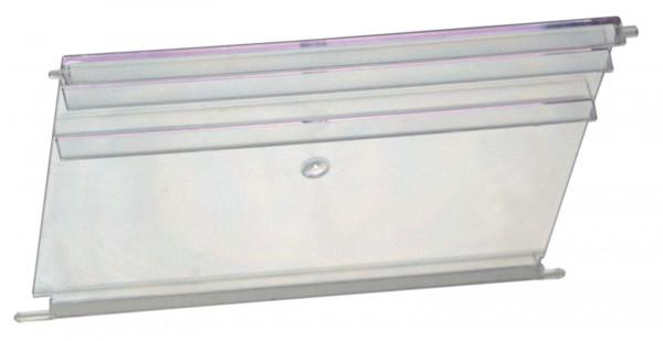 Sichtscheiben transparent für Sichtlagerkästen VTK 600/420