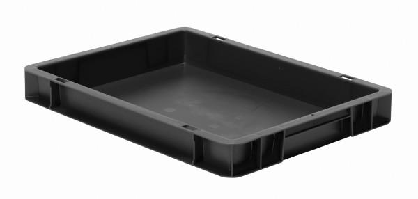 Transport-Stapelkasten schwarz leitfähig TKL 400/50-0