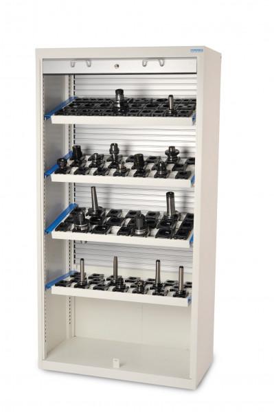 CNC- Rollladenschrank Höhe 1950 mm mit Kunststoff- Rollladen