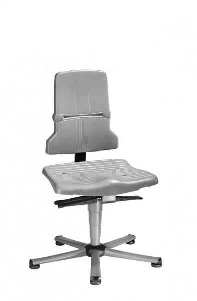 Arbeitsdrehstuhl Sintec 9810-1000 mit Bodengleitern, Kontaktrückenlehne und Sitzneigungsverstellung