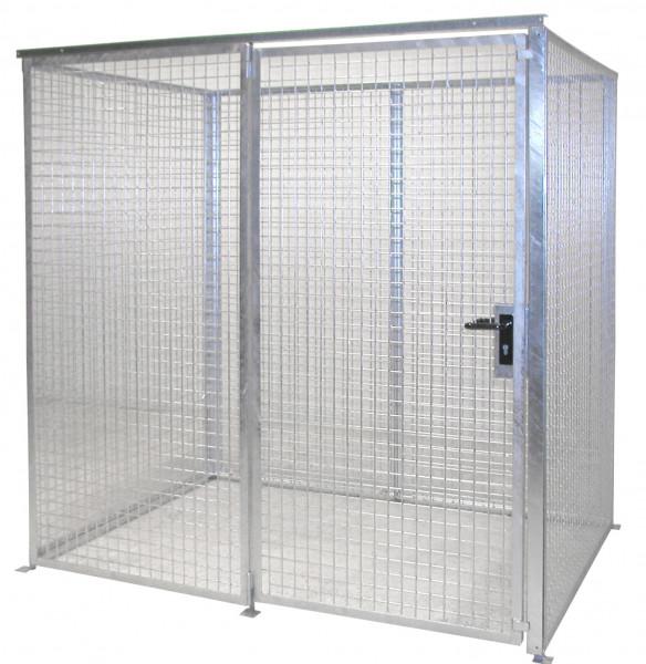 Gasflaschen-Container ohne Dach für max. 48 Gasflaschen Typ GFC-M2