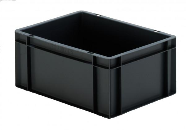 Transport-Stapelkasten schwarz leitfähig TKL 400/175-0