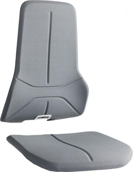 Supertec-Gewebepolster grau für Arbeitsdrehstühle Neon