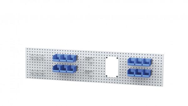 Aufbau für Kastenwerkbank B 2000 x H 450 mm