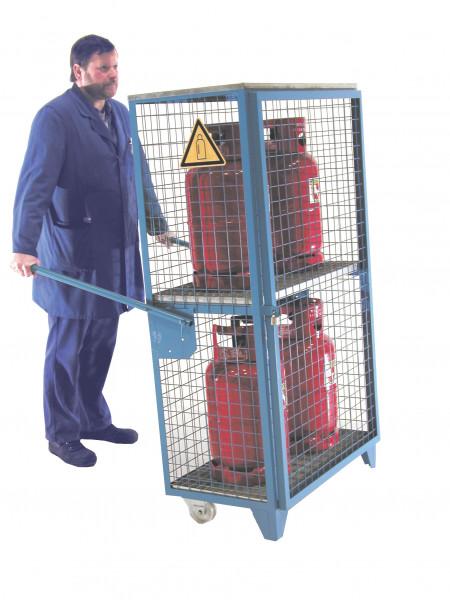 Gasflaschen- Depot Typ GFD-R 4