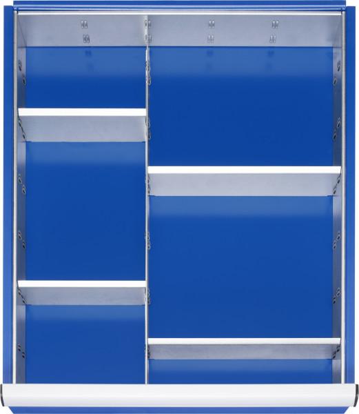 Einteilungsset für Schubladen- Innenmaß B 490 x T 560 mm
