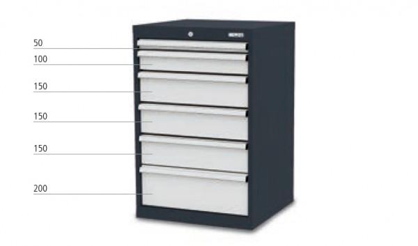 Schubladenschrank mit 6 Schubladen