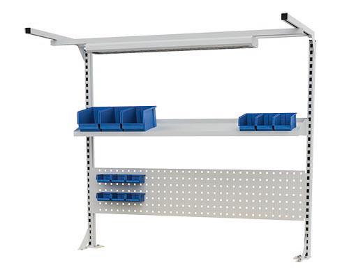 Multi-Wand-Aufbau für Kastenwerkbänke B 1500 x T 750 x H 859/959 mm