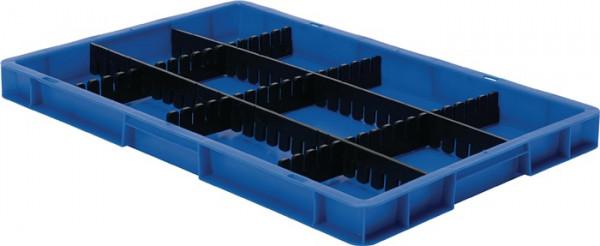 Unterteiler Höhe 80 mm für Transportstapelbehälter