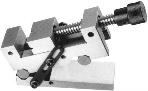 Sinus-Schraubstock mit Gewindespindel 63 mm