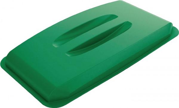 Deckel grün für Wertstoffsammler