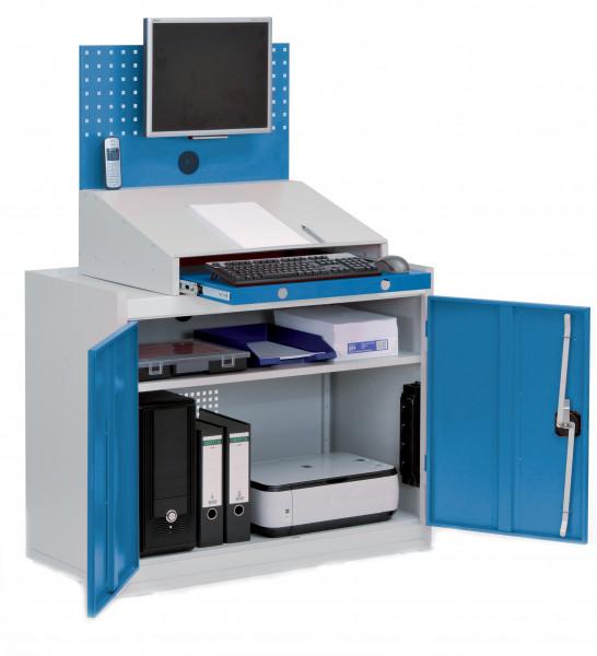 Computerschrank stationär B 1000 x T 500 x H 1460 mm