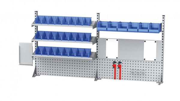 Aufbau für Kastenwerkbank B 2000 x H 950 mm