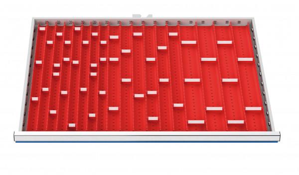 Muldenplatten | 71-teilig