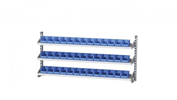 Aufbau für Kastenwerkbank B 1500 x H 650 mm