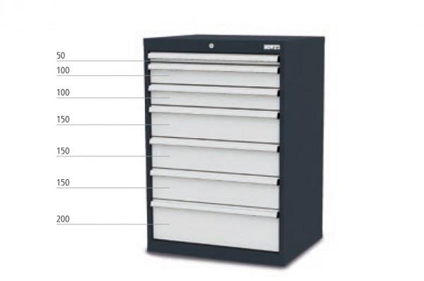 Schubladenschrank mit 7 Schubladen